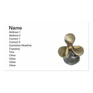 Boat Propeller Business Card