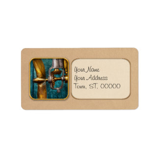 Boat - Propulsion Personalized Address Label