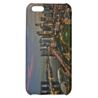 Boat Quay Singapore City Skyline Panorama iPhone 5C Cover