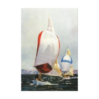 Boat race/Boat RACE Canvas Print