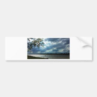 Boat Race Bumper Sticker