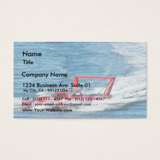 Boat Race Business Card