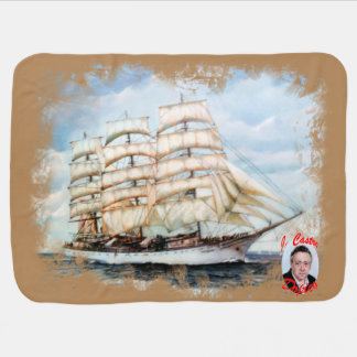 Boat race Cutty Sark/Cutty Sark Tall Ships' RACE Baby Blanket