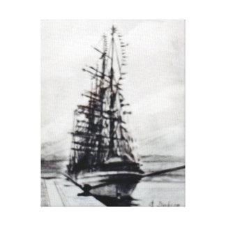 Boat race Cutty Sark/Cutty Sark Tall Ships' RACE Canvas Print