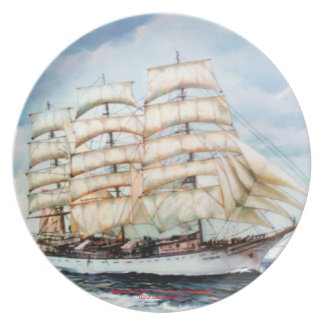 Boat race Cutty Sark/Cutty Sark Tall Ships' RACE Dinner Plate
