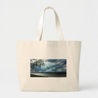 Boat Race Large Tote Bag