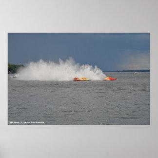 Boat Races - Brockville - 1000 Islands Poster