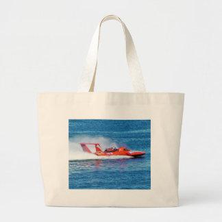 Boat Racing Tote Bags