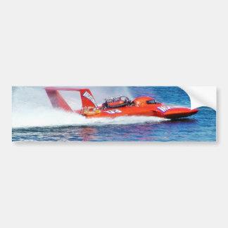 Boat Racing Bumper Stickers