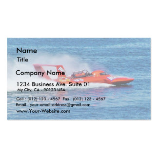 Boat Racing Business Card Templates