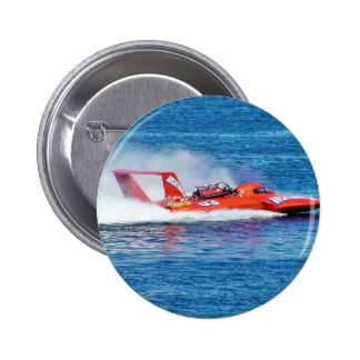 Boat Racing Pinback Buttons