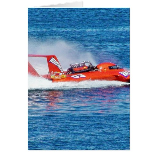 Boat Racing Greeting Cards