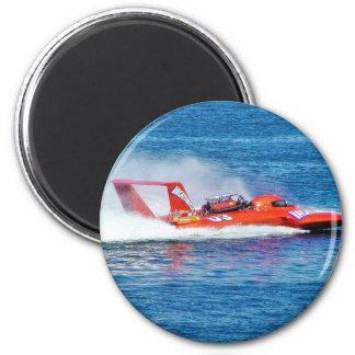 Boat Racing Refrigerator Magnets