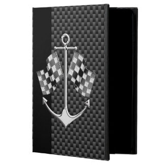 Boat Racing Nautical in Carbon Fiber Decor iPad Air Cover