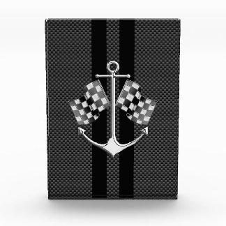 Boat Racing Nautical in Carbon Fiber Style Award