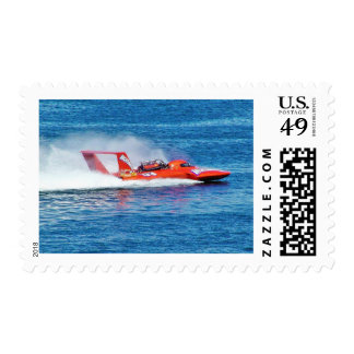 Boat Racing Postage