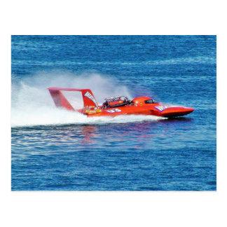 Boat Racing Post Card