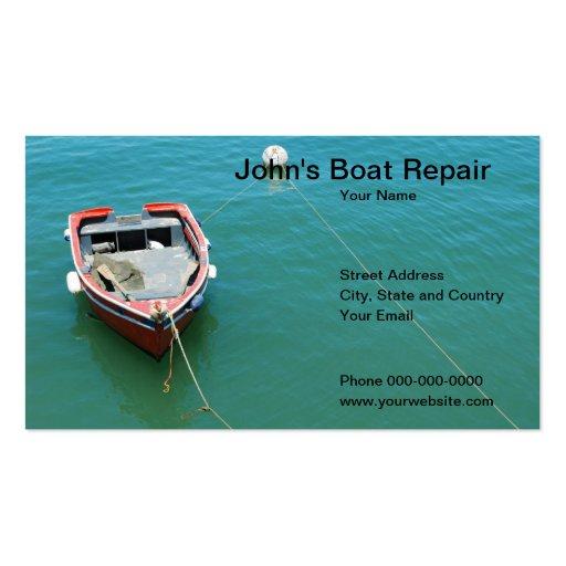 57 boat repair business cards and boat repair business for Boat business cards