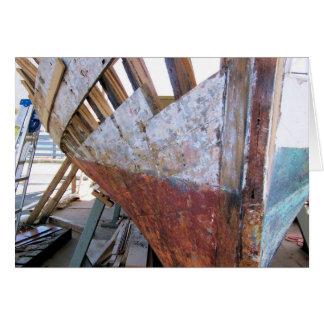 Boat Restoration Card