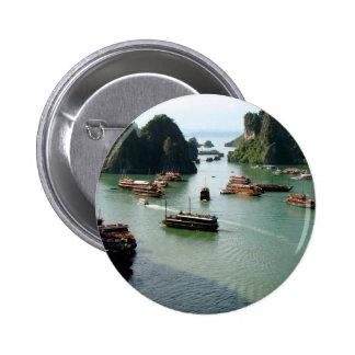 Boat Ride Pinback Button