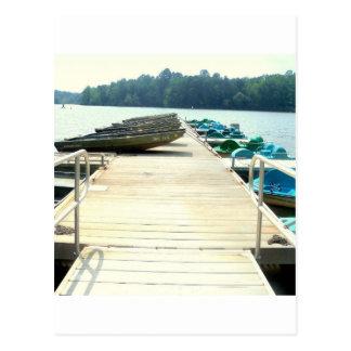 Boat Ride Postcard