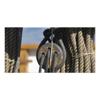 Boat rigging card