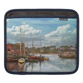 Boat - Rockport Mass - Motif Number One - 1906 iPad Sleeve