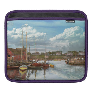 Boat - Rockport Mass - Motif Number One - 1906 iPad Sleeves