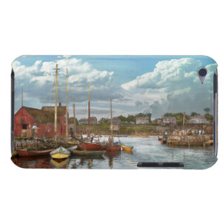 Boat - Rockport Mass - Motif Number One - 1906 iPod Case-Mate Case