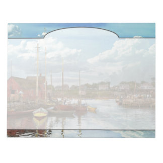 Boat - Rockport Mass - Motif Number One - 1906 Notepad