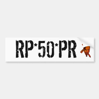 boat, RP*50*PR Car Bumper Sticker