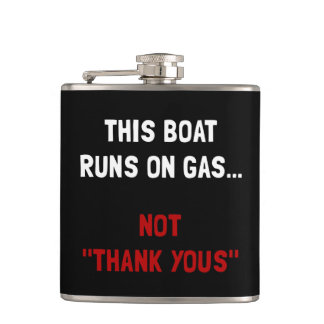 Boat Runs Gas Flask