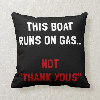 Boat Runs Gas Pillow