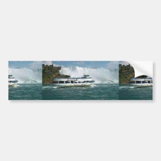 Boat Sail Lake Ontario Niagara River Fallsview fun Bumper Sticker