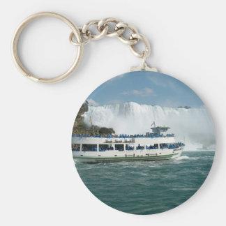 Boat Sail Lake Ontario Niagara River Fallsview fun Key Chain