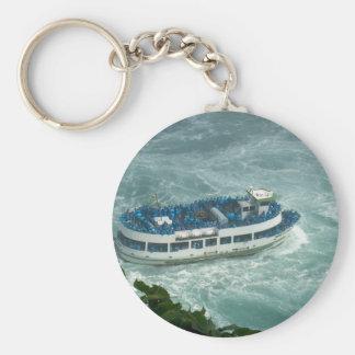 Boat Sail Lake Ontario Niagara River Fallsview fun Keychain