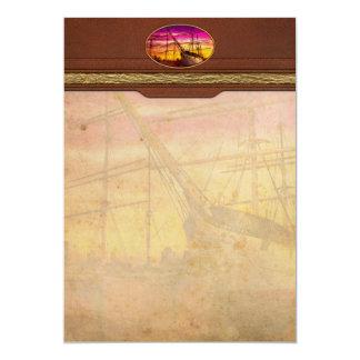 Boat - Sailing - Fleet week Card