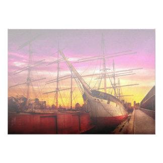 Boat - Sailing - Fleet week Personalized Invites
