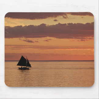Boat Sailing Mouse Pad