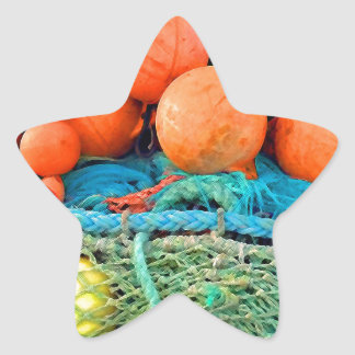 Boat Salad Star Sticker