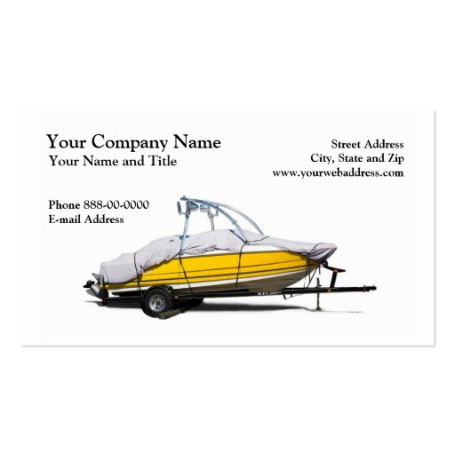 Boat Sales Business Card