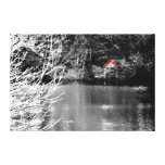 Boat shed gallery wrapped canvas