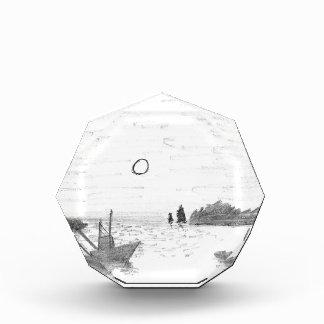 boat silhouette award
