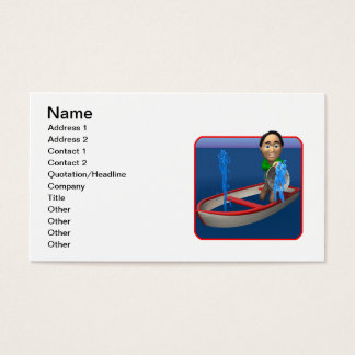 Boat Sinking Business Card