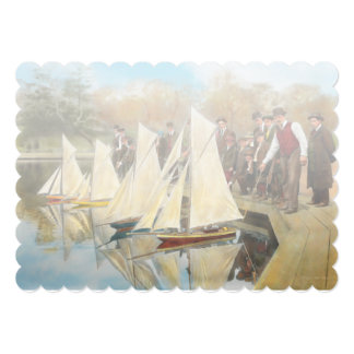 Boat - Sorry kids this ones mine 1910 Card