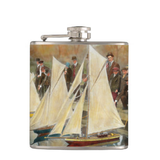 Boat - Sorry kids this ones mine 1910 Hip Flask