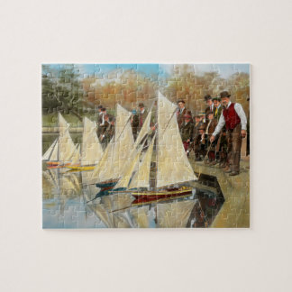 Boat - Sorry kids this ones mine 1910 Jigsaw Puzzle