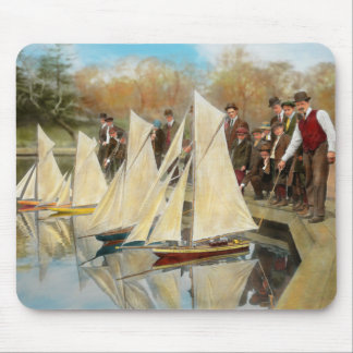 Boat - Sorry kids this ones mine 1910 Mouse Pad