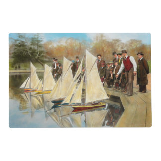 Boat - Sorry kids this ones mine 1910 Placemat