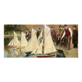 Boat - Sorry kids this ones mine 1910 Rack Card